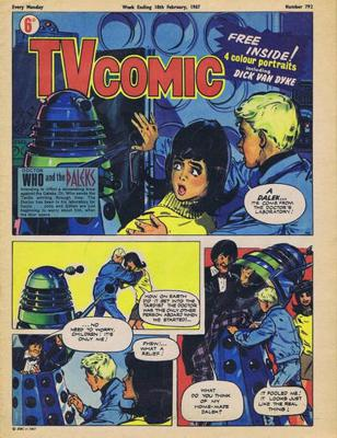 Doctor Who - Comics & Graphic Novels - The Doctor Strikes Back reviews
