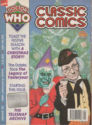 Doctor Who - Comics & Graphic Novels - A Christmas Story reviews