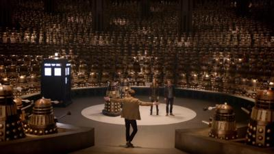 Doctor Who - New TV Series - 7.1 - Asylum of the Daleks reviews