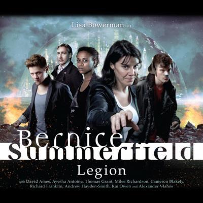 BERNICE SUMMERFIELD 3 LEGION - Big Finish Doctor Who CD BOX SET - Very Good